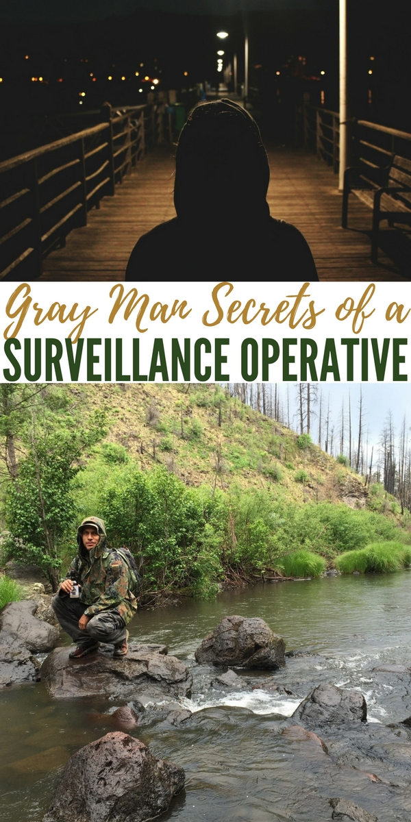Gray Man Secrets of a Surveillance Operative — The infamous gray man is a topic covered pretty often and with a collection of great info throughout the internet. What makes this article unique is that rather than get the information from another prepper, survivalist or ex-military officer the source is much more connected.