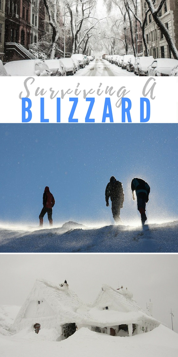 Surviving a Blizzard - emergency preparedness