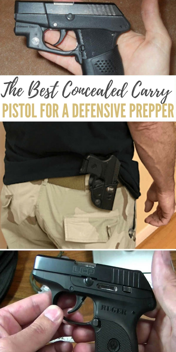 The Best Concealed Carry Pistol for a Defensive Prepper - list