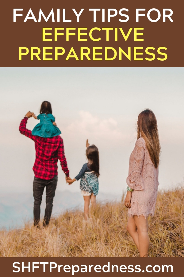 Effective family preparing is a struggle. No getting around that!  However, if you can get everyone prepping together you can get a lot more done. Whether you realize it or not, there are a number of things we do to stifle effective family prepping. Let's look at some of them below.