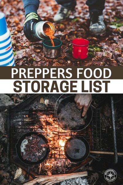 Preppers Food Storage List - This article also talks about how to commercially packaged foods into long term food storage items with the help of oxygen absorbers and mylar bags. This is a great skill that will allow you to take your food storage to the next level. The article ends with a list of other great sites to visit for more info on food storage.