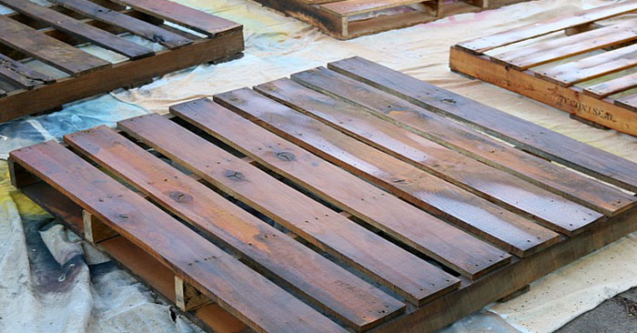 easy diy wood pallet projects - Wood Pallet Projects