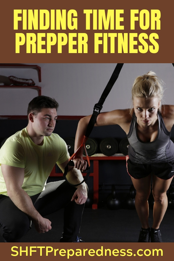 It's always an ugly topic to face, fitness. No one really wants to get in Post Apocalyptic shape. One of the greatest enemies of prepper fitness is time. The greatest excuse is that there is no time in the busy day for a fitness plan.
