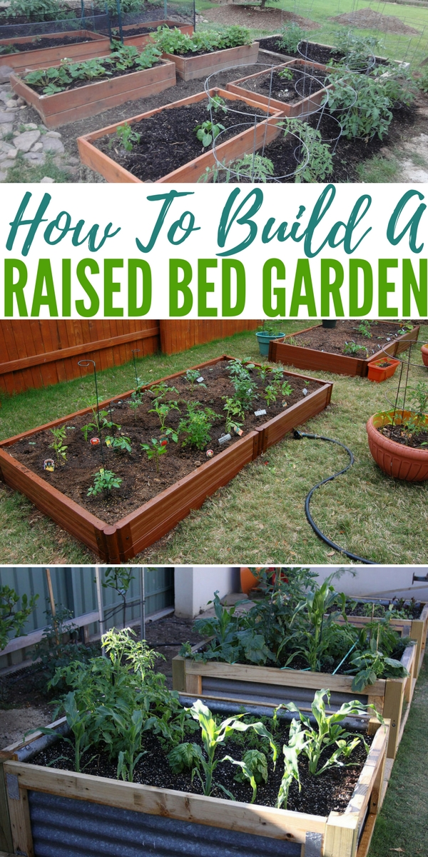 How to build a raised bed garden for How to make a raised garden