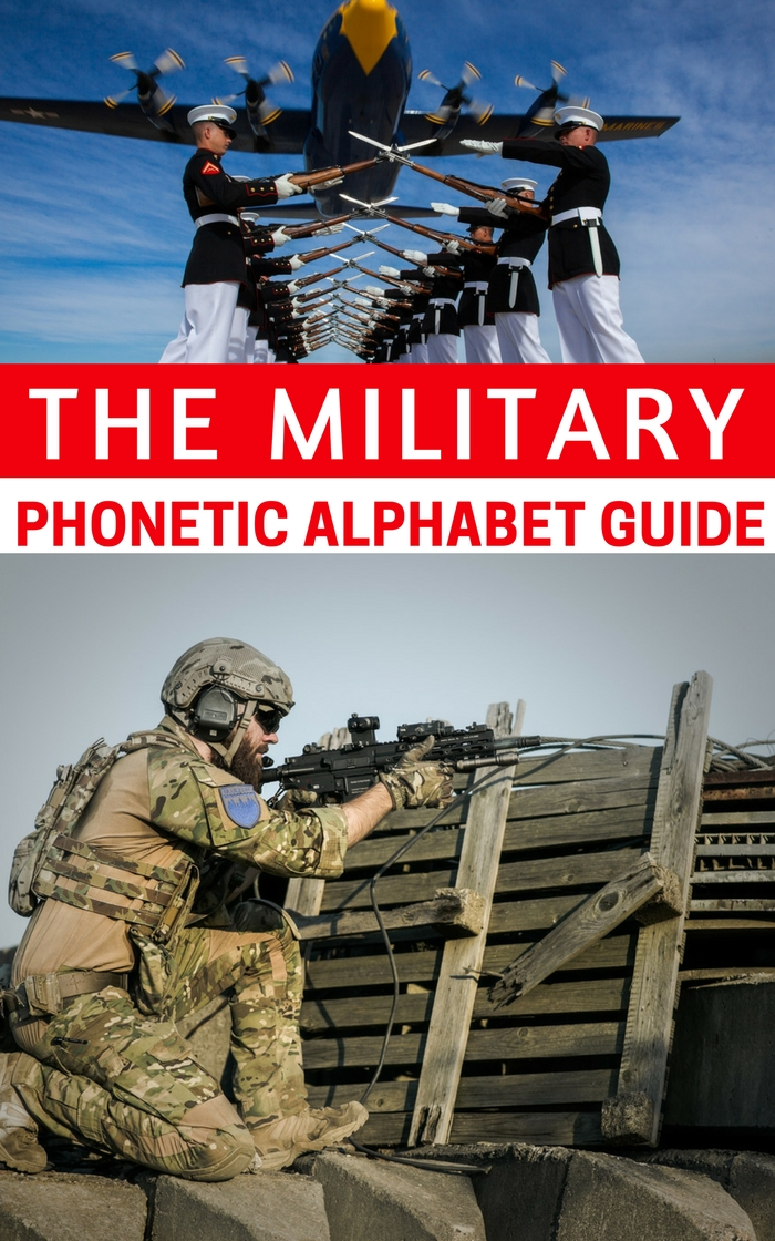 The Military Phonetic Alphabet Guide — Have you ever had trouble talking with someone in a loud setting or over a bad cellphone connection? Even spelling out what you are trying to say can be misinterpreted.