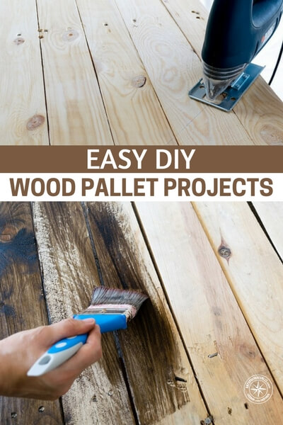 Easy Diy Wood Pallet Projects