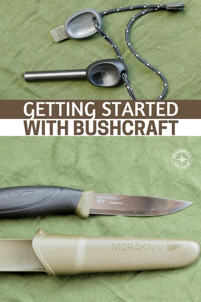 Getting Started with Bushcraft - I love the stance this author takes on bushcraft. Many of use tend to take a strange approach to wilderness survival.
