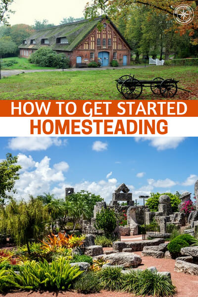How to get started homesteading for How to start homesteading today