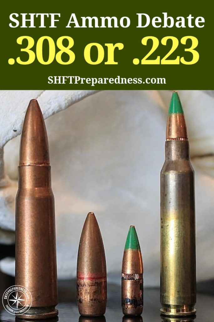 HTF Ammo Debate .308 or .223 - On a subject like this there is an awful lot of conjecture. You find that many people have opinions but very few have factual data to support those opinions.