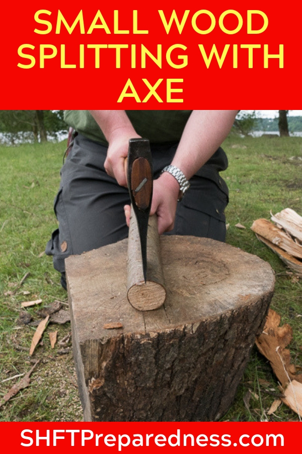 Small Wood Splitting With Axe: Reliable In Camp & On The Trail - Splitting wood on the home front is a completely different endeavor than when you are on the trail and I really enjoy the angle on this great article because of that.