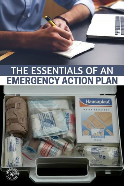 The Essentials of an Emergency Action Plan - When disaster strikes, you need a plan. In a true disaster scenario, panic can easily take over and cloud your thinking. Without a well-rehearsed action plan, you're sunk.