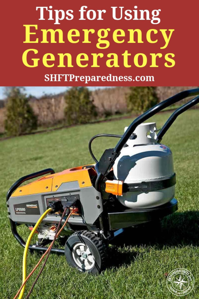 "Tips for Using Emergency Generators — A backup generator can be a godsend during power outages, but making sure you're prepared takes more than just buying one and ""waiting for a rainy day."""