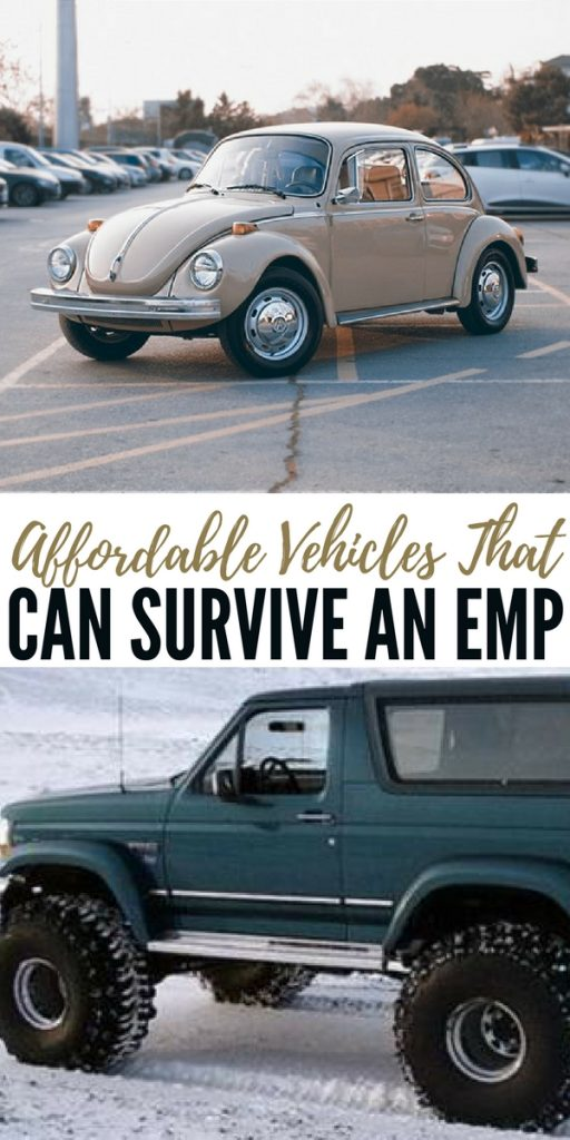 Affordable Vehicles That Can Survive an EMP - In a survival situation there is nothing like having an operating vehicle. You will be at a distinct advantage if you own vehicles that can survive an EMP.