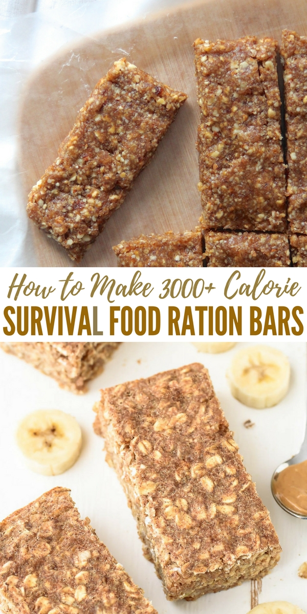 How to make 3000 calorie survival food ration bars for Food bar 527