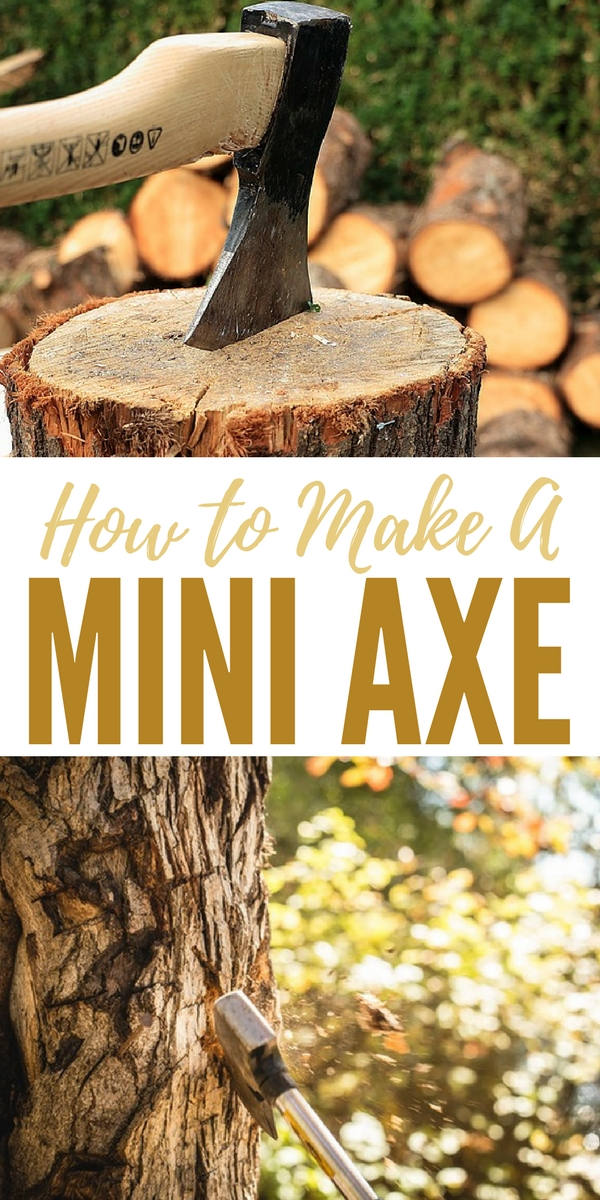 How to Make a Mini Axe - Have you ever considered turning a saw blade into a weapon. I may consider storing more saw blades after reading this article. You will enjoy this. Taking a few humble ingredients and turning them into a life saving tool. This tool will follow you down every path and if you care for the weapon it will even outlast you!