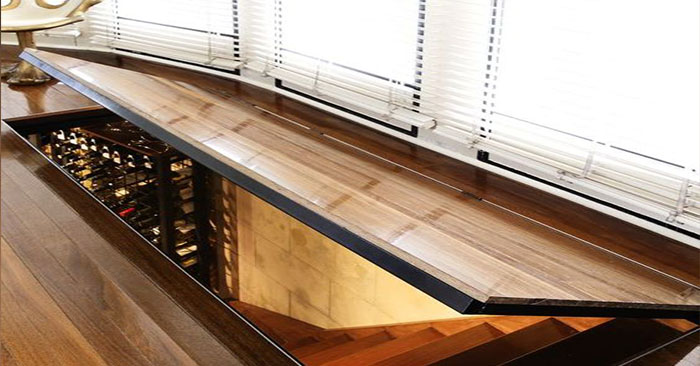 How to seamlessly camouflage a hidden floor safe for Hidden floor safes for the home
