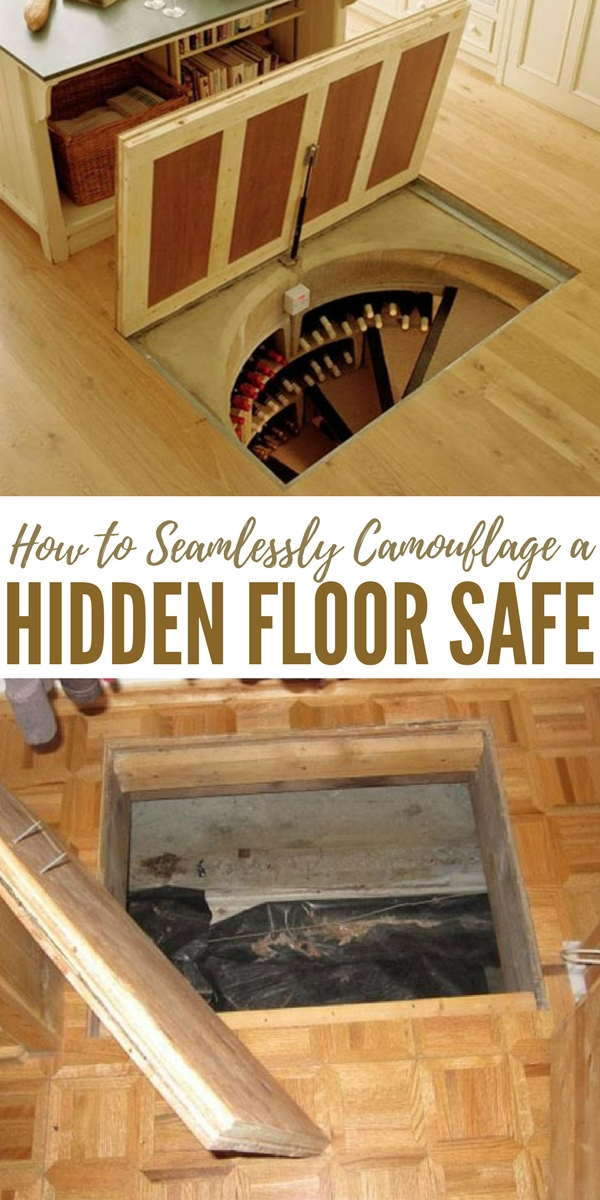 How to seamlessly camouflage a hidden floor safe pin for Hidden floor safe