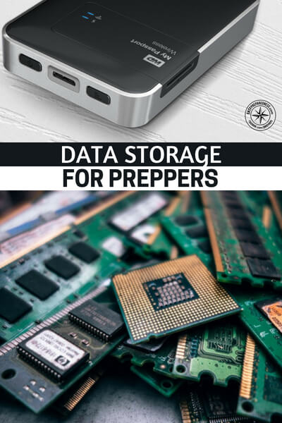 Data Storage for Preppers - hacking is one of the greatest threats that most preppers don't take the time to plan for.