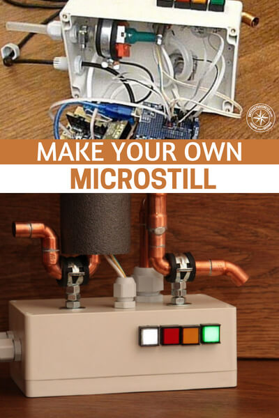 Make Your Own Microstill - When I first read the article or instructions I found that this would be a great option for distilling water. Clean water, depending on the type of disaster, could hold more weight than anything else.