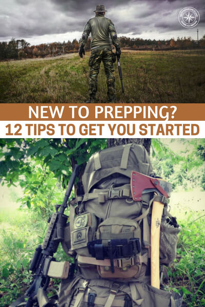 New To Prepping? 12 Tips To Get You Started - If you are new to the prepping world let me first applaud you. You see, this is no easy road. You will be ridiculed for merely planning to protect your family but you are taking on a noble cause that could change everything.