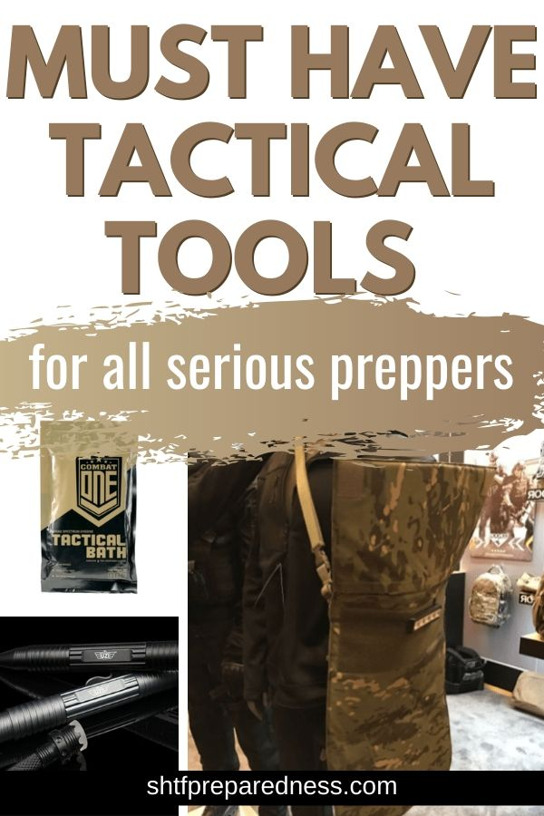Tactical tools for preppers