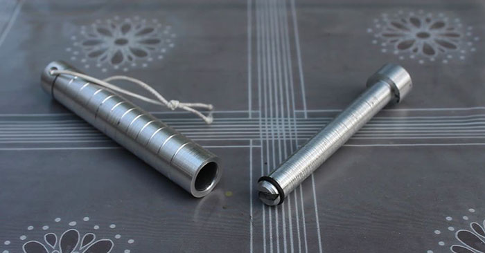 Make a Mini FIRE PISTON on Lathe - Even if you don't have the ability to machine metal this article may change your mind about what you store in your garage. When you see how quickly and easily this survival tool can be made I have a feeling it will change your tune on metal work.