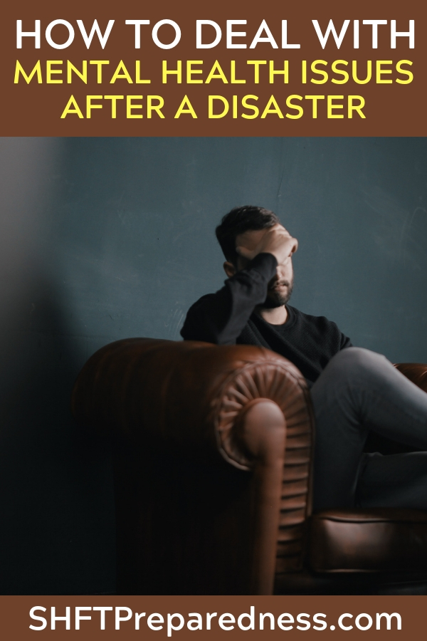 How To Deal With Mental Health Issues After A Disaster - The mentally ill could certainly become a threat to you and your family in a collapse scenario. This article is a treasure trove of information on the topic of mental health and dealing with issue based on the topic.