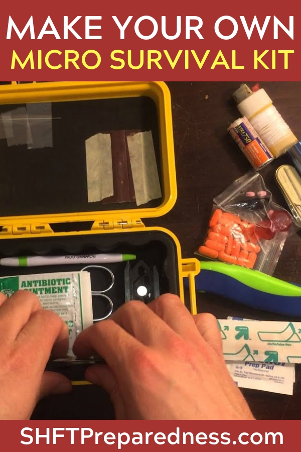 Make Your Own Pill Bottle Survival Kit - When you are talking about a survival project with kids this guy really takes the cake. To sit down and build this for a camping trip or even vacation would be a great opportunity to get the wheels rolling on the importance of preparedness.