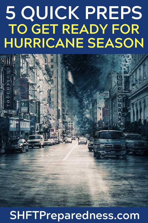 Seven 15 Minute Preps to Get Ready for Hurricane Season - This article is great and offers some incredible information on hurricane preparedness. These tips are the type that you kick yourself in the but for putting off. Don't get caught in the wind and rain trying to find your tarps or seeking out batteries for things.