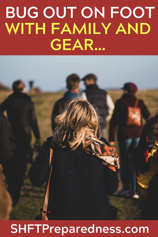 SOLVED: Bug Out on foot with family AND gear… - This article offers a solution to the problem of bugging out. This is something I find interesting to proclaim. Still, the article offers a new and interesting tool to add to your bugout.