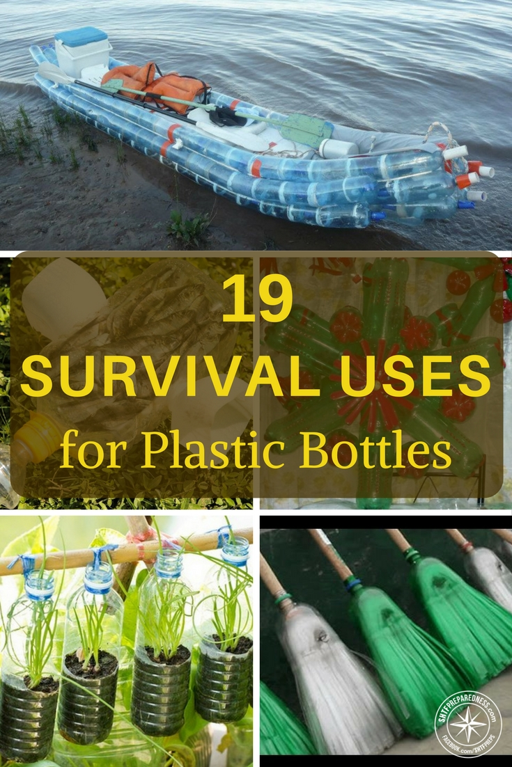 19 Survival Uses for Plastic Bottles - I see things like zero electricity refrigeration and get pretty excited about plastic bottles. They are pretty impressive uses. So much of survival is about just being able to make the most of the resources around you.