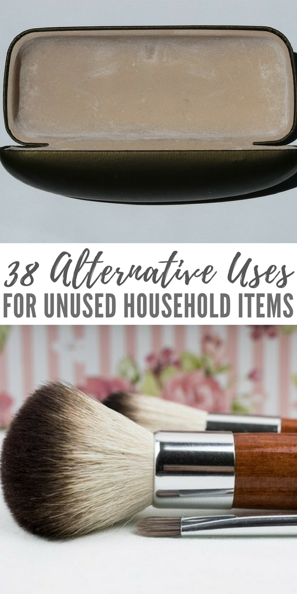 38 alternative uses for unused household items - Alternative uses for household items ...