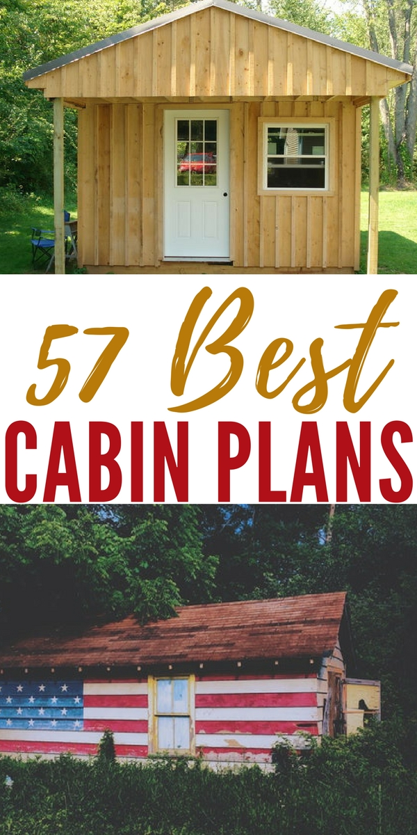 57 best cabin plans for Build your own cabin plans