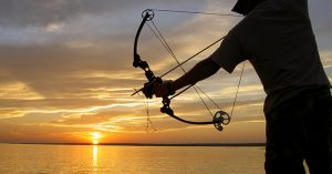 Bowfishing for Survival - The author takes a look at some of the options when it comes to bowfishing and judges whether or not it would be a good survival method. I am a champion of survival in the waters. I think there is easy and abundant protein available in the waters if you take the time to get at it.