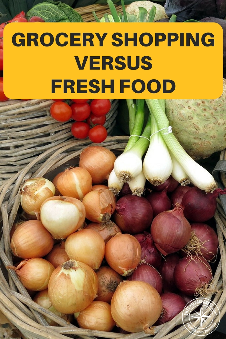 Food War: Grocery Shopping Versus Fresh Food - The author took a lot of time to seek out prices, labor and other stats that help solidify the point that growing food is cheaper and easier than spending money at the market. Side conversations about packaging and its effects are also very eye opening.