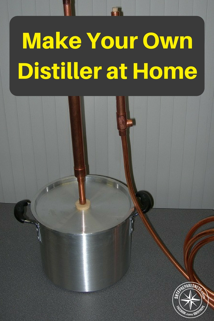 How To Make Your Own Distiller At Home To Filter And