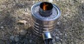 How to Make Your Own Rocket Stoves - This article offers step by step instructions on how to create your own rocket stove using a variety of base materials. Once you understand the basic concept you will even be able to build some of your own from other materials. Don't know if this qualifies as bushcraft but litter is everywhere!