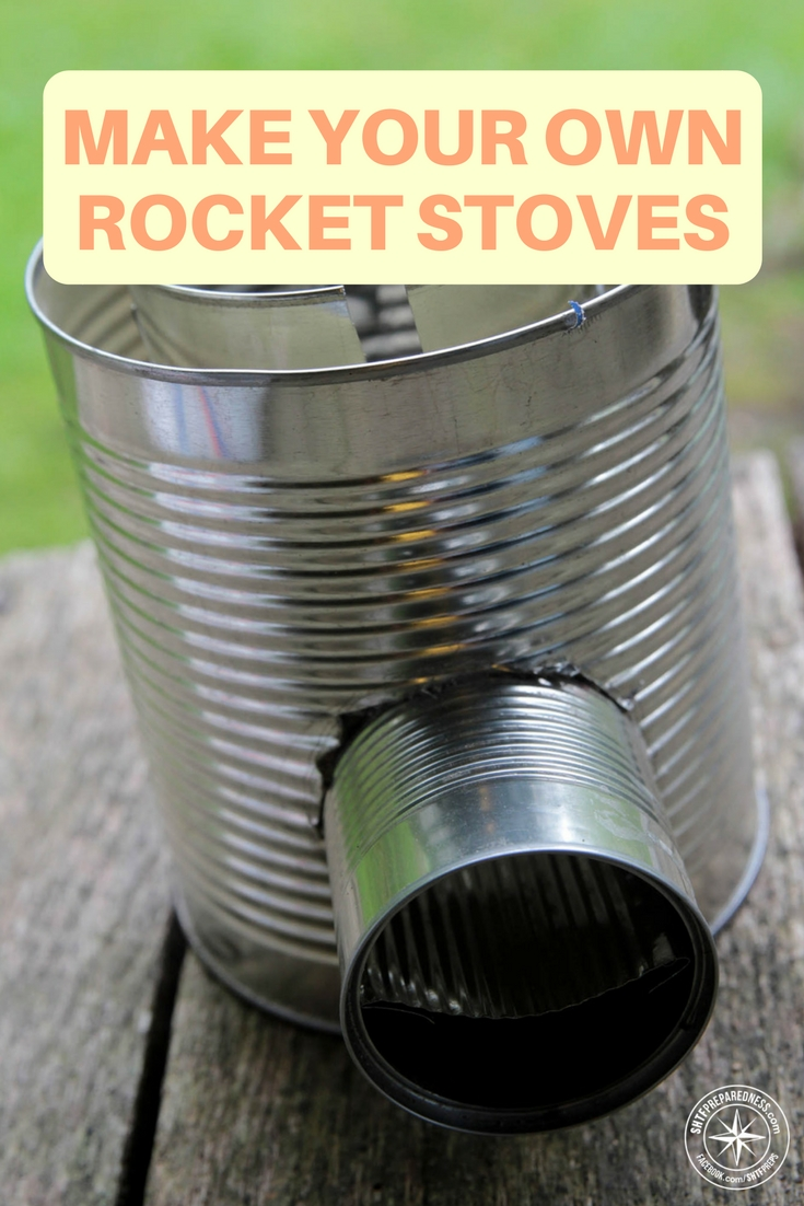How to make your own rocket stoves for Make a rocket stove