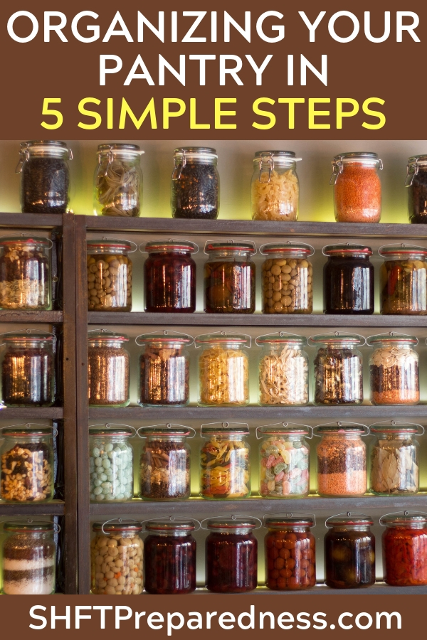Organizing Your Pantry In 5 Simple Steps - The author clearly has some great advice and pictures to go along with that advice. Organization is a choice that we all make. Its also a never ending process. There is no on button for organizing.