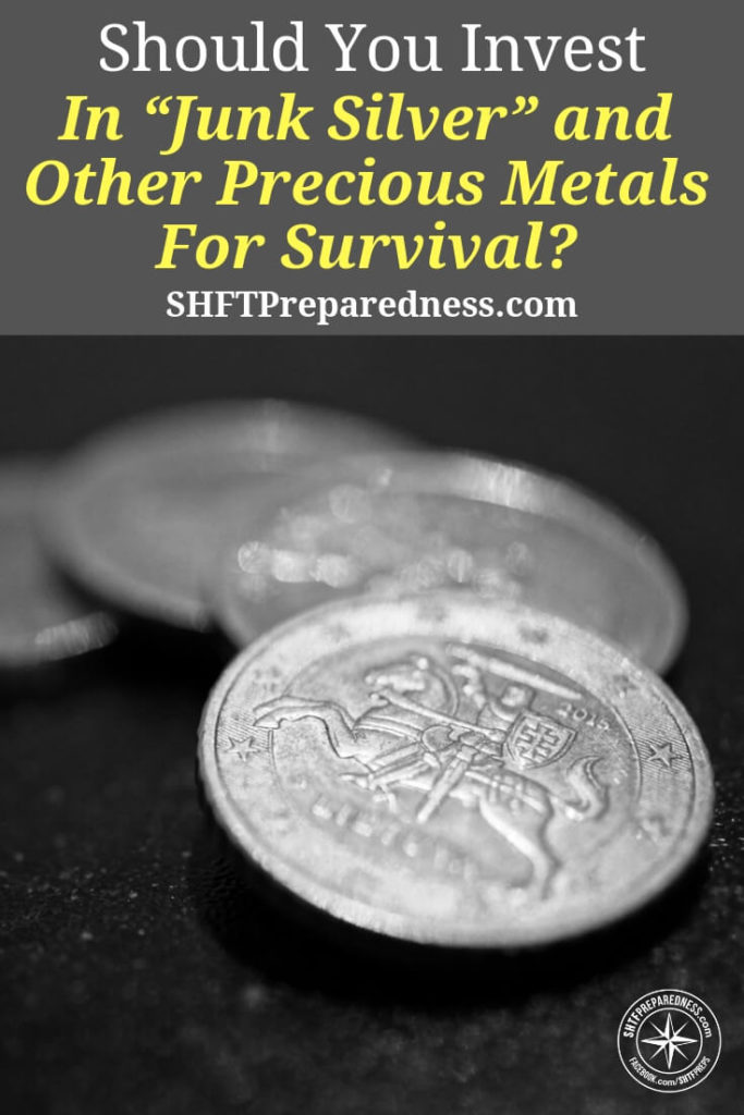 "Should You Invest In ""Junk Silver"" and Other Precious Metals For Survival? - If you have doubts about the American economy and the American dollar you should be looking into silver and gold investment. The other thing that many preppers and survivalists neglect to tell you is the beauty and the fun of silver investment. If you are buying actual silver you will be rewarded with great pieces all the time"
