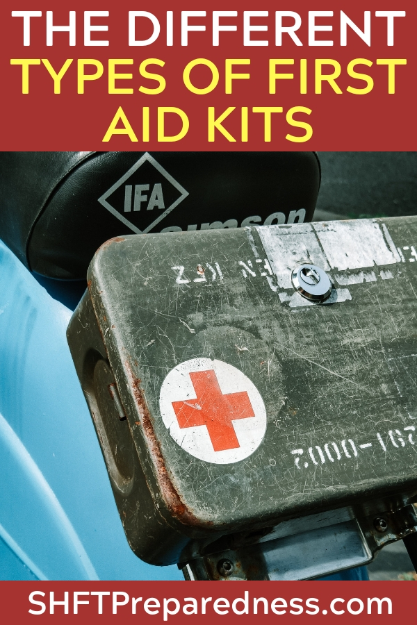 The Different Types of First Aid Kits - The author does a great job at creating lists of different types of kits that can be made and bought. There is also an entire podcast included on the subject as well.