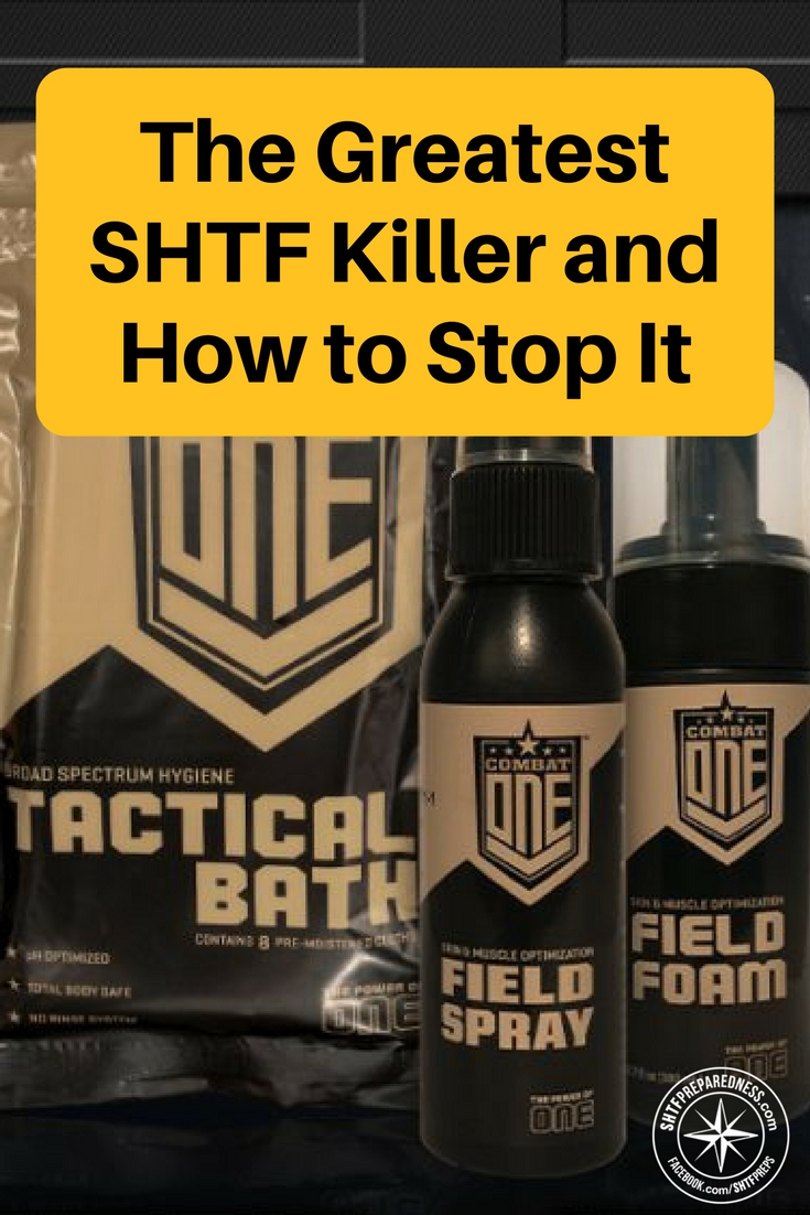 The Greatest SHTF Killer and How to Stop It - There is also a great product highlighted in the article as well. If you are looking for a waterless hygiene solution for your bugout bag or even for your home in the event of a disaster you will want to read this article. There are some great pieces of advice on the importance of post SHTF hygiene.