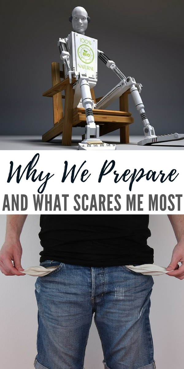 Why We Prepare, And What Scares Me Most - The article is looking at technology in a big way. I was very interested in the fact that the author even took some time to explore the growing consensus on universal basic income.