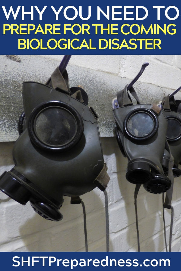 Why You Need To Prepare For The Coming Biological Disaster Today - This article is an in depth look at preparing for such an event and being able to react to these issues. This article is also part of a much larger breakdown of disasters that I have been reading for weeks. Its a great little look at all of the disasters that could affect us as a people.