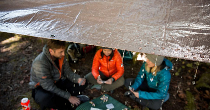 10 Survival Tips for Camping in the Rain - The author of this blog offers up several concrete ways to prepare your camping adventure for the rain. I was pleasantly surprised by some of these recommendations. I truly enjoyed this article because it also touches on the fundamentals of managing a shelter.