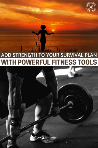 Add Strength to your Survival Plan with Powerful Fitness Tools - The author speaks to 4 great products as well as a simple routing that will keep you honest. Your health is everything and this article offers ways that you can benefit from working out hard, at home and never needing a gym to get in shape.