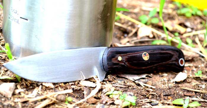 Bushcraft Knife From a Saw Blade - You will enjoy watching the process take shape. When the initial blade is cut out of the saw blade you will see it is a haggard mess. To watch the blade take shape and the beautiful handle as well gives you an appreciation for the process. We always see the finished product but its cool to see the whole process.