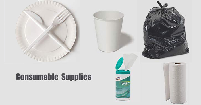 Consumable Supplies: Level-1 Prepping & Preparedness - These consumables can be things like rubber gloves or things like chem lights. Anything that will be used during a disaster should be part of a consumables inventory This is a very important part of managing your resources.