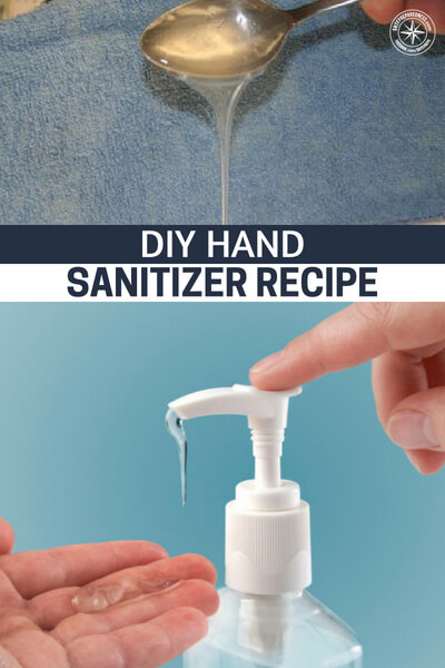 DIY Hand Sanitizer Recipe - Easy and cheap to make... This DIY Hand sanitizer recipe will have you prepared in a SHTF situation from simple household supplies.