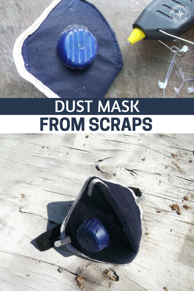 Dust Mask From Scraps - This one is very interesting. Believe it or not creating a dust mask from a bra is actually very effective. This design is even more impressive and allows for a little more leeway and upgrading if you are in a situation that requires it. These were not designed for things like a pandemic or nuclear war but if you have them around they will be incrementally better than not having them.